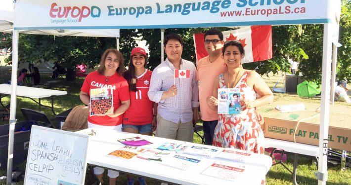 Europa Canada Day Celebration